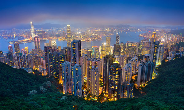 Hong Kong is a vibrant component of Wogen's Asian presence