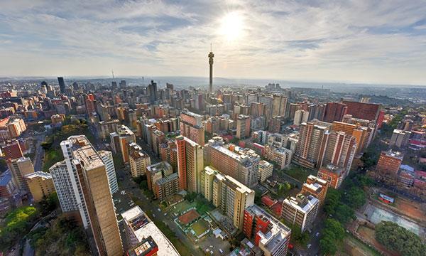 Wogen Johannesburg