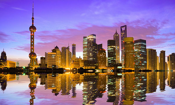 Shanghai, the administrative seat for the Chinese Wogen company.