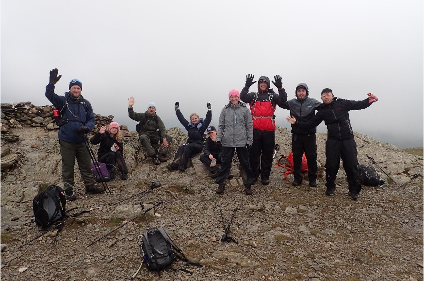 Lake District 24 Peaks challenge, Day 1, Peak 10