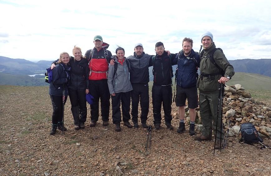 Lake District 24 Peaks challenge, Day 2, Peak 24