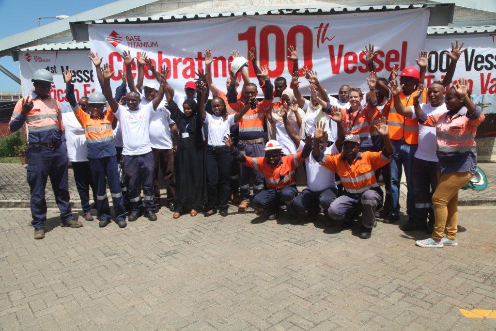 Celebrating 100th vessel