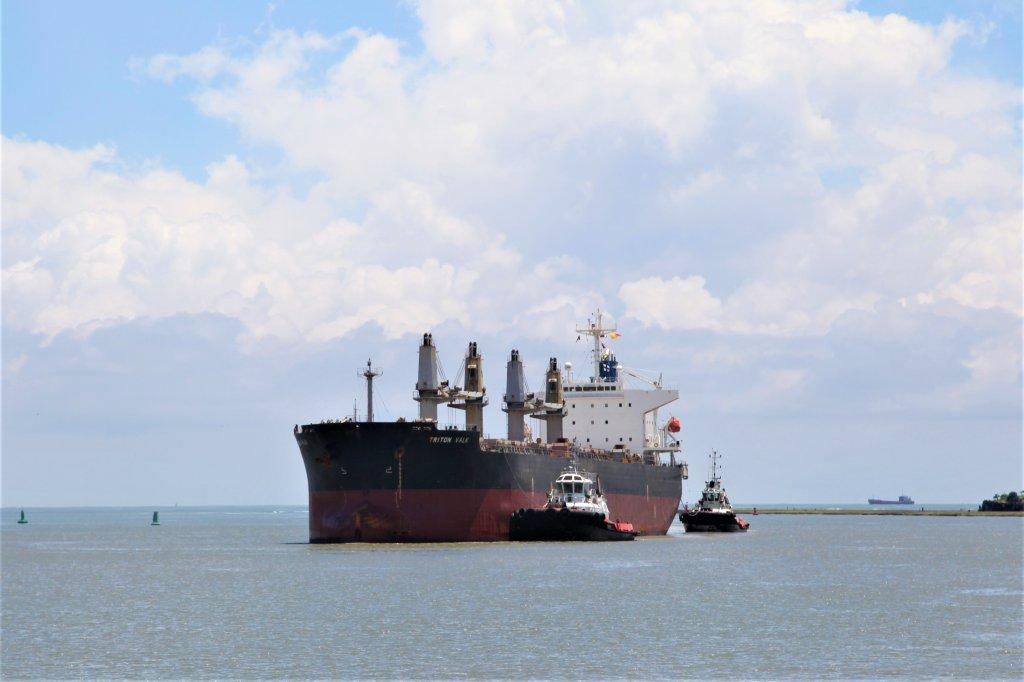 100th bulk shipment of Ilmenite leaving Likoni port